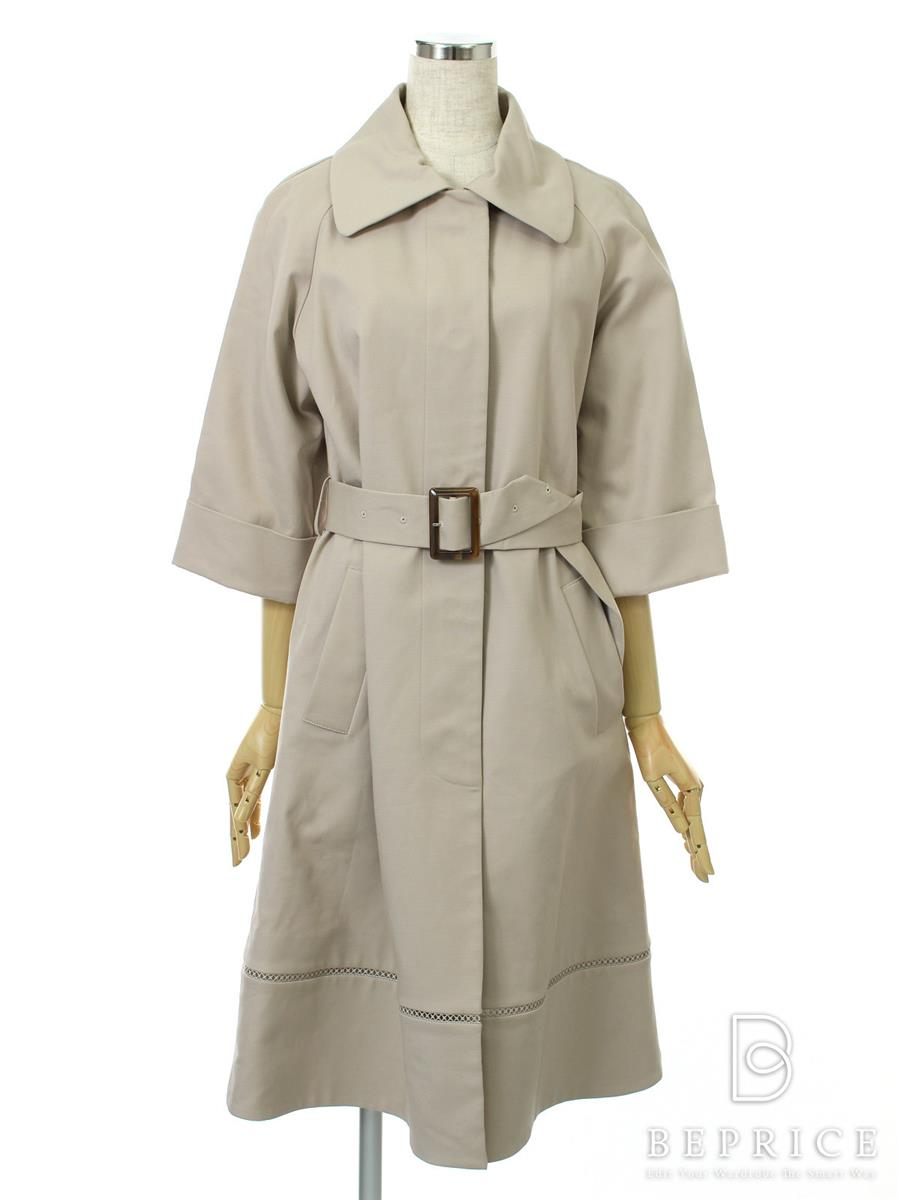 FOXEY NEWYORK フォクシー トレンチコート Double-Face Cotton Trench Collection【38】【Aランク】【中古】tn291105t