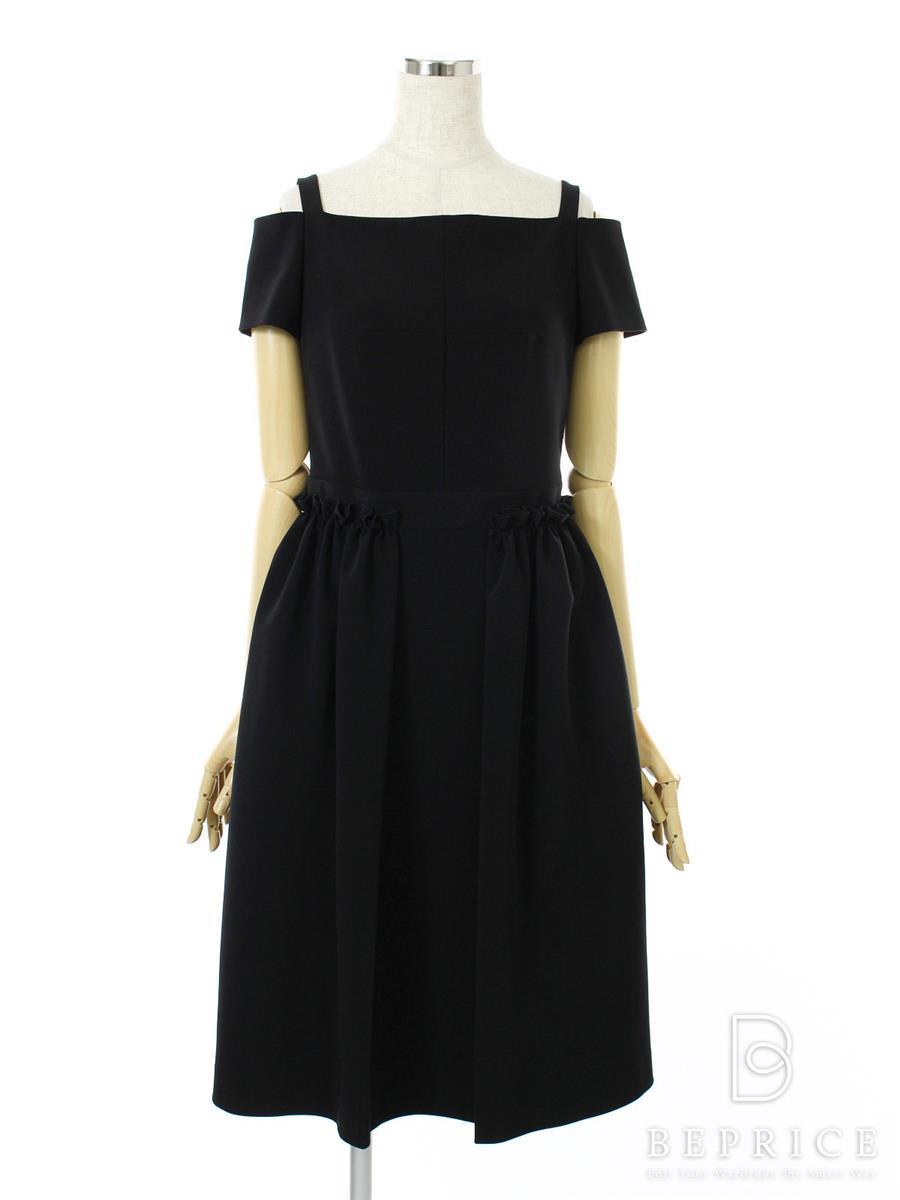 FOXEY NEWYORK フォクシー ワンピース Dress 37324【38】【Aランク】【中古】tn291105t