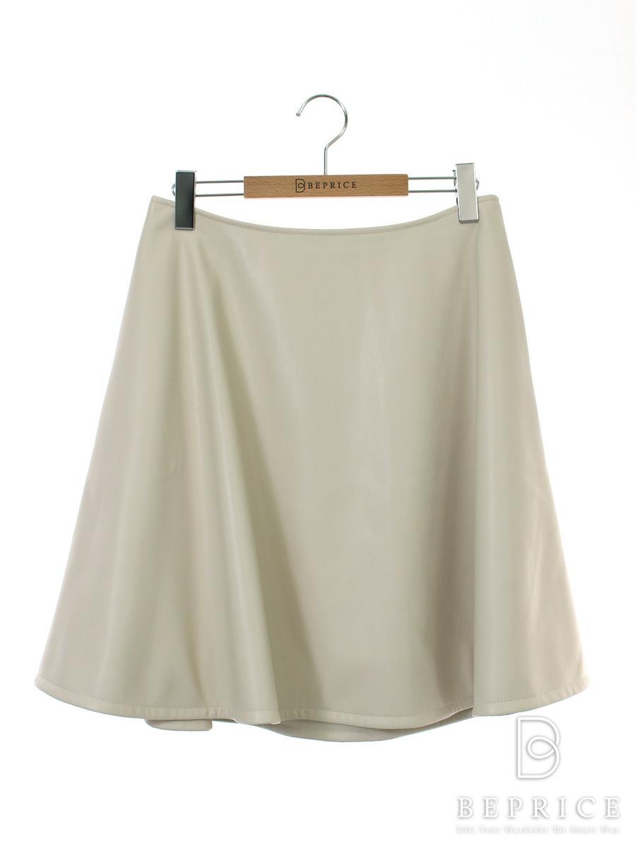 FOXEY NEWYORK フォクシー スカート 37717 Skirt フェイクレザー【42】【Aランク】【中古】tn291109t