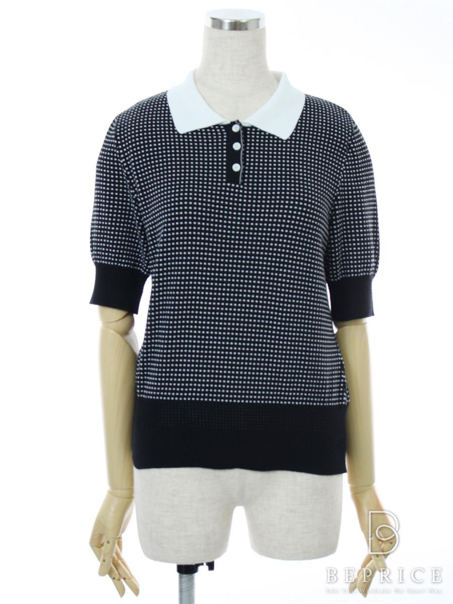 FOXEY BOUTIQUE フォクシー トップス Sweater Lady Polo【40】【Aランク】【中古】tn291116t
