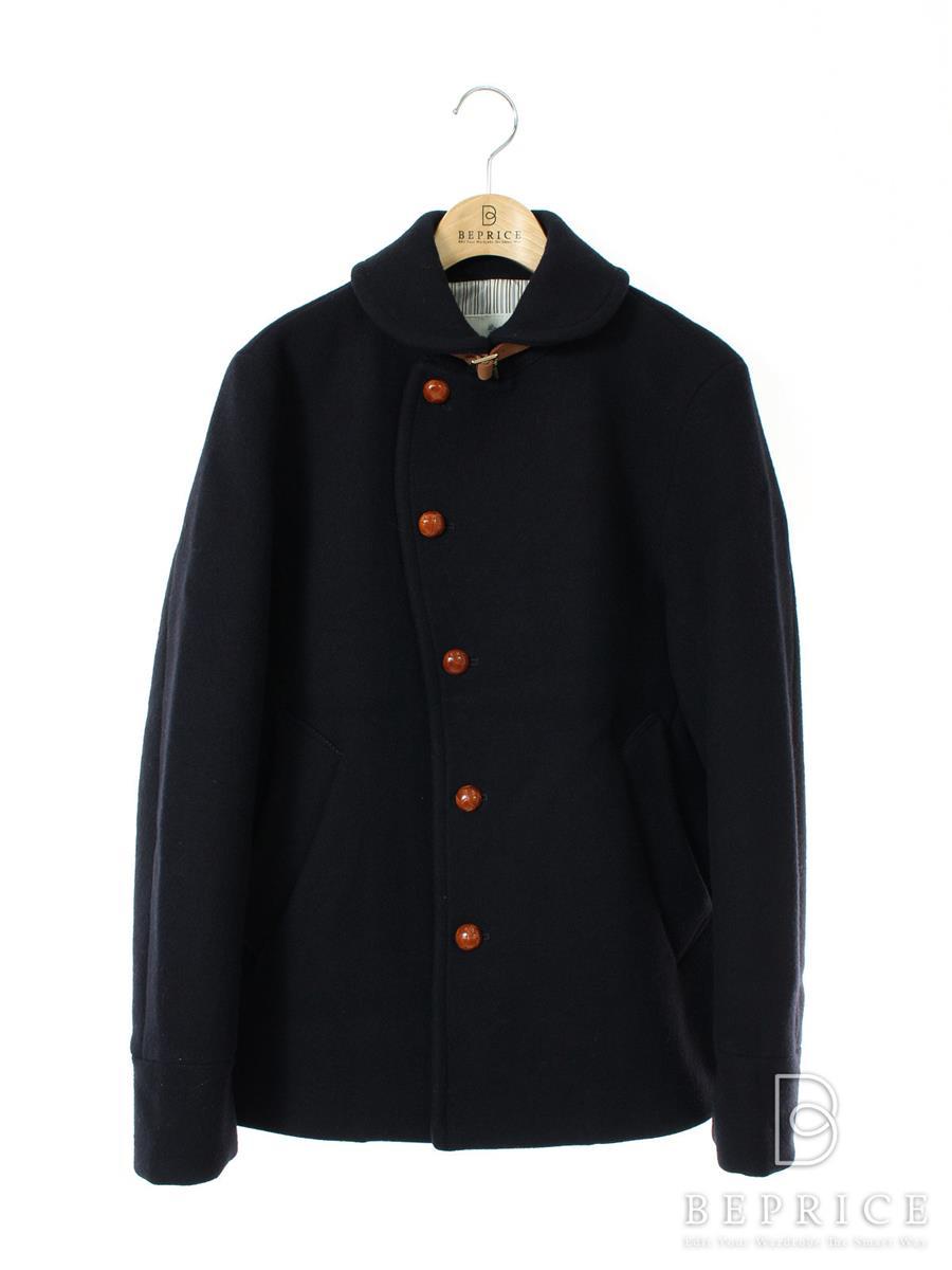 EDIFICE エディフィス ウールジャケット コート メルトン【メンズ】【44】【Aランク】【中古】tn291130t