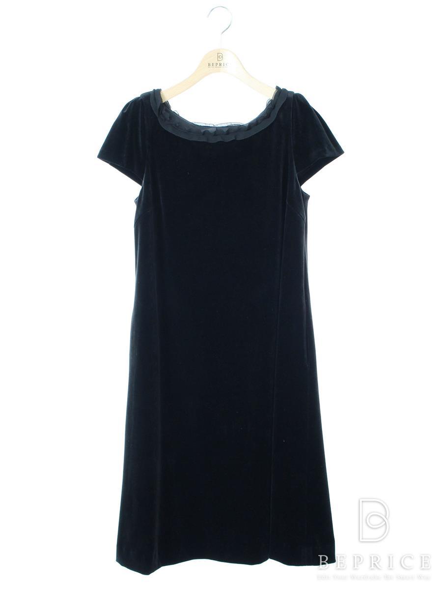 VELOUR NOIR フォクシー ワンピース A-Line Velour Dress【40】【Sランク】【中古】tn291203t
