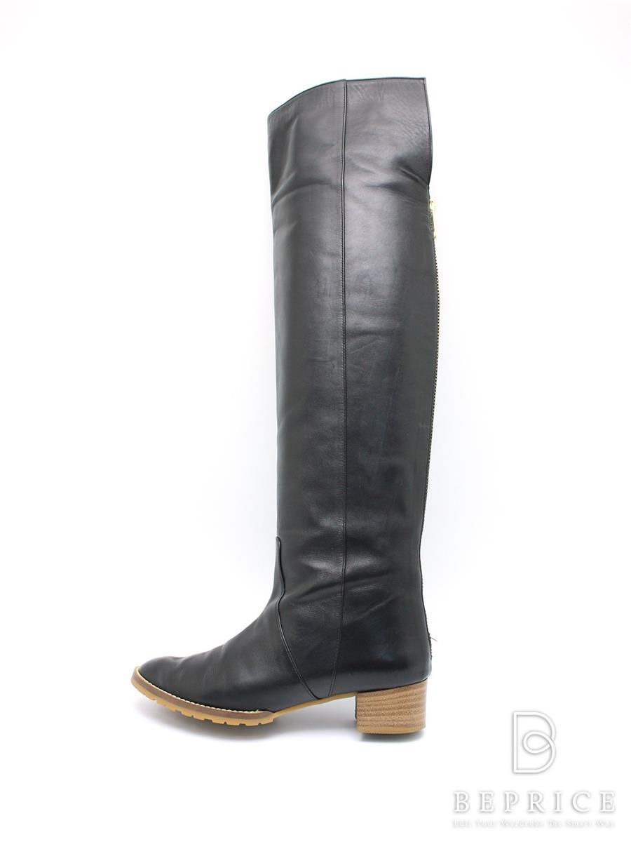 CHEMBUR チェンバー 靴 ロングブーツ レザー【36】【Bランク】【中古】tn291203t