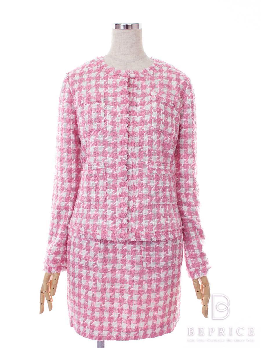 EmiriaWiz エミリアウィズ スーツ スカート ジャケット ツイード【M】【Aランク】【中古】tn291207t
