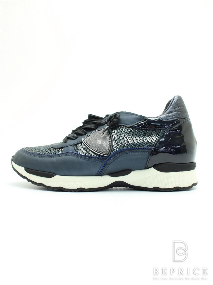 PHILIPPE MODEL フィリップモデル 靴 スニーカー スパンコール【EUR38】【Bランク】【中古】tn291210t