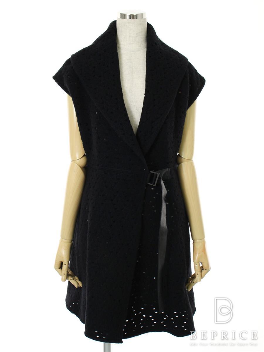 FOXEY BOUTIQUE フォクシー コート ニット Knit Coat with Gloves Splash【F】【Aランク】【中古】tn300107t