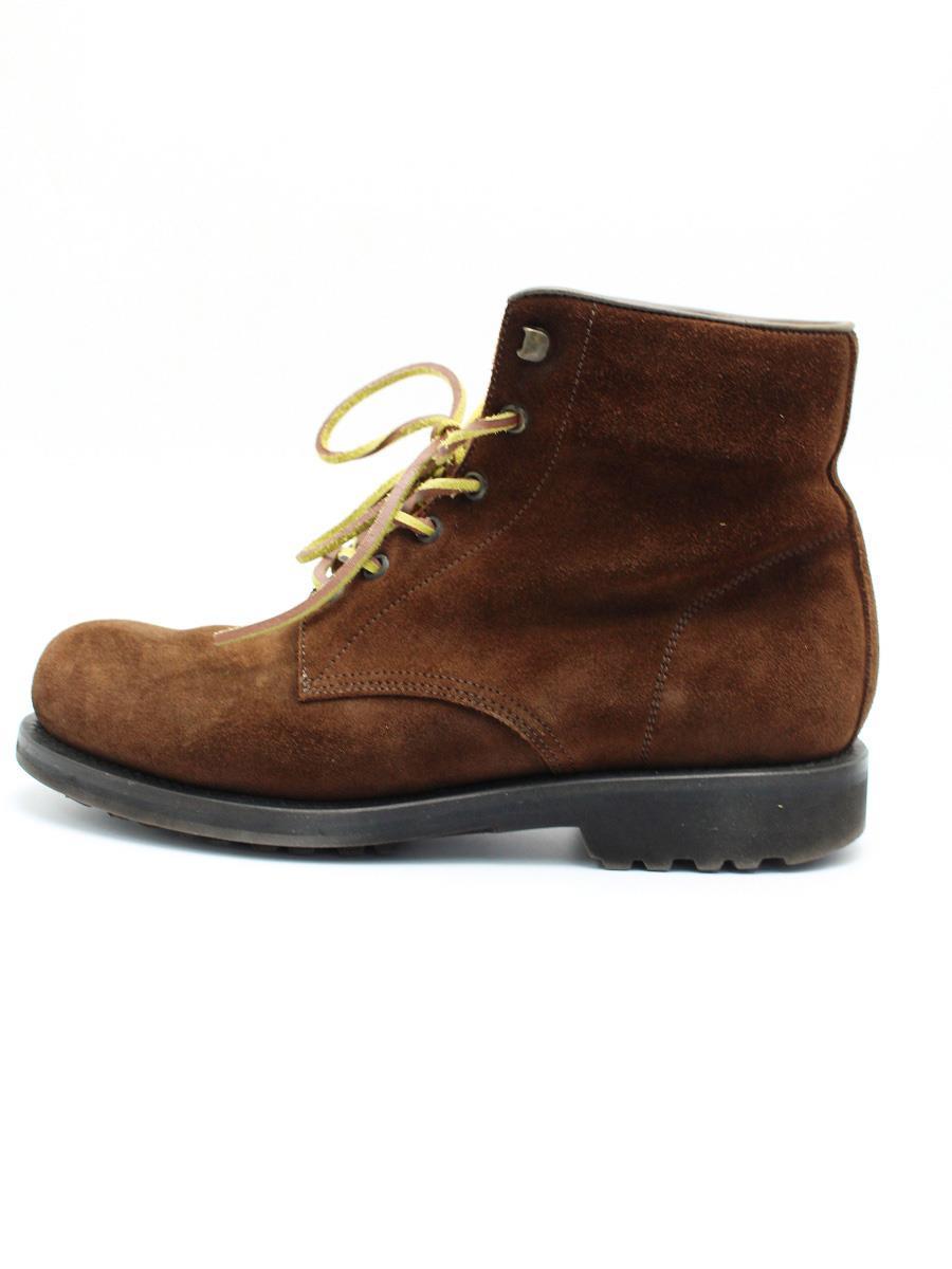 BUTTERO ブッテロ 靴 ブーツ レースアップ スエード 【メンズ】【41】【Aランク】【中古】tn300111t