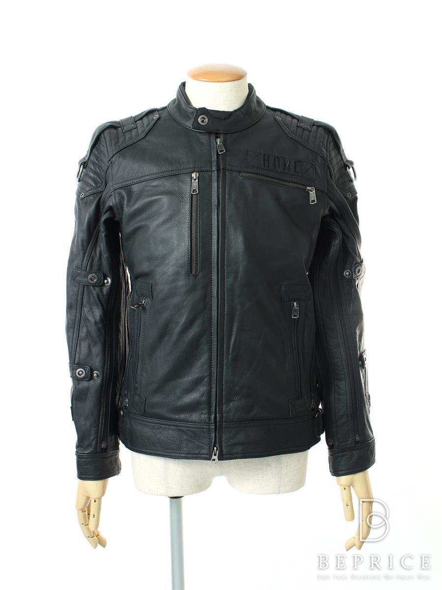 Harley Davidson ハーレーダビッドソン レザージャケット アウター【メンズ】【S】【Sランク】【中古】tn300114t