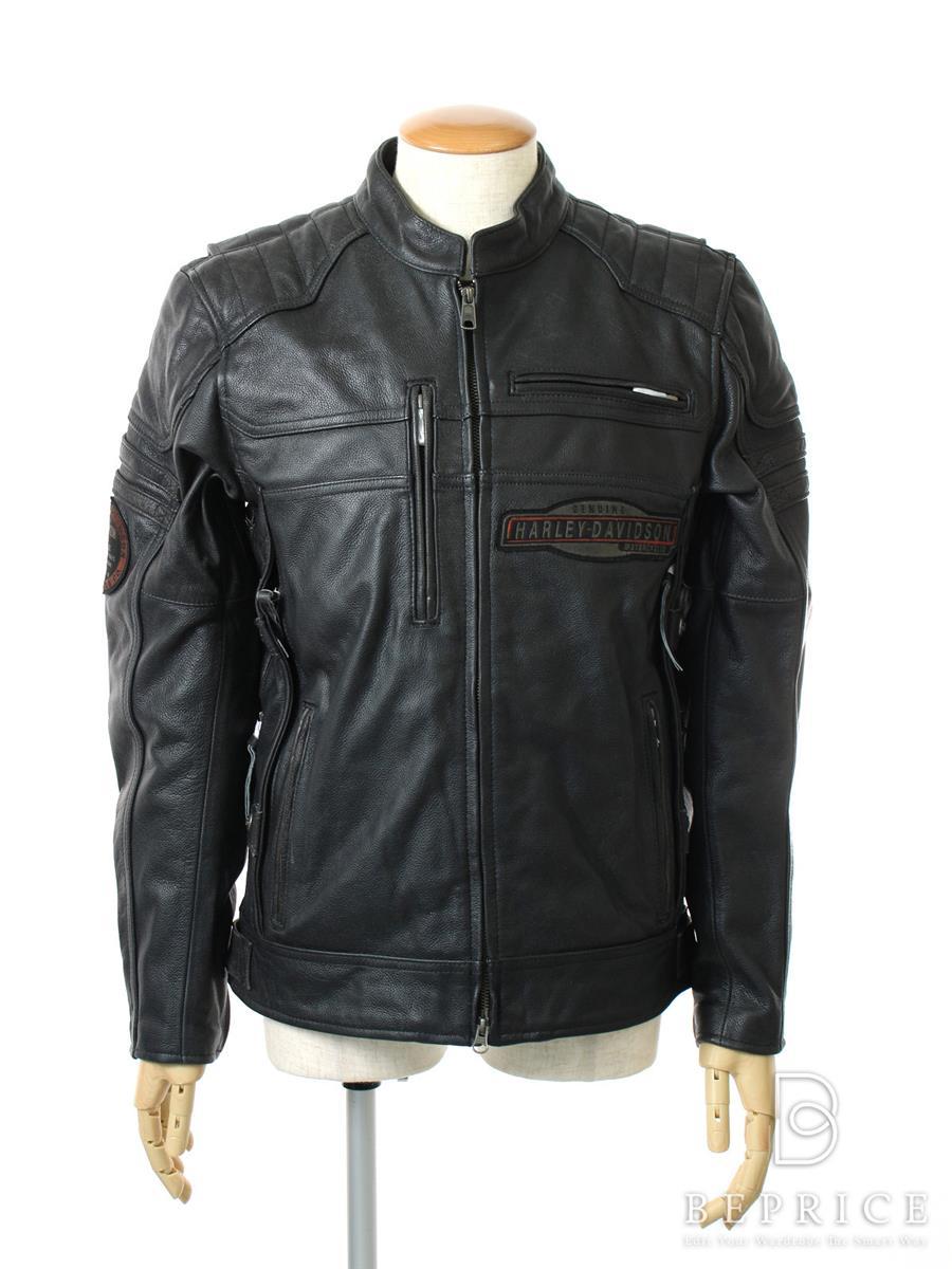 Harley Davidson ハーレーダビッドソン レザージャケット アウター【メンズ】【M】【Sランク】【中古】tn300114t
