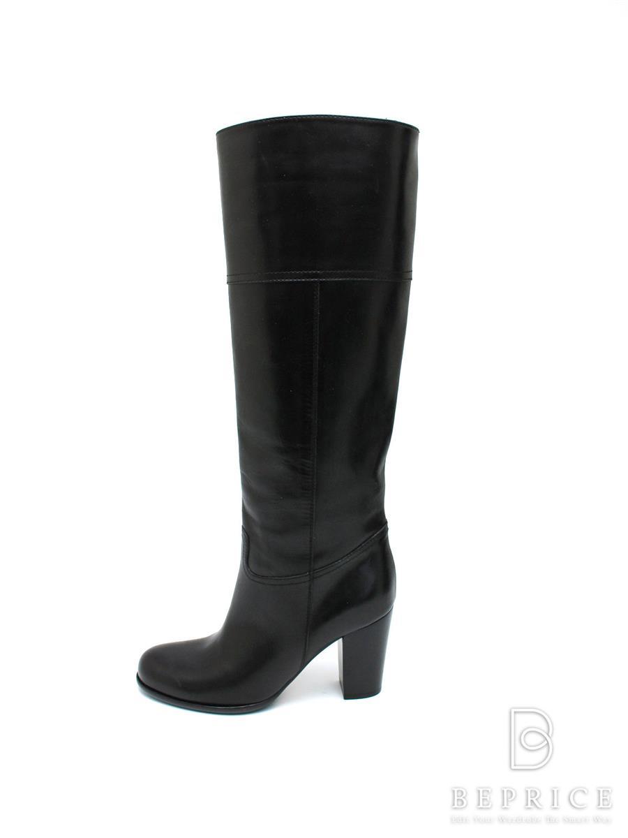 PELLICO ペリーコ 靴 ロングブーツ レザー【35.5】【Aランク】【中古】tn300118t