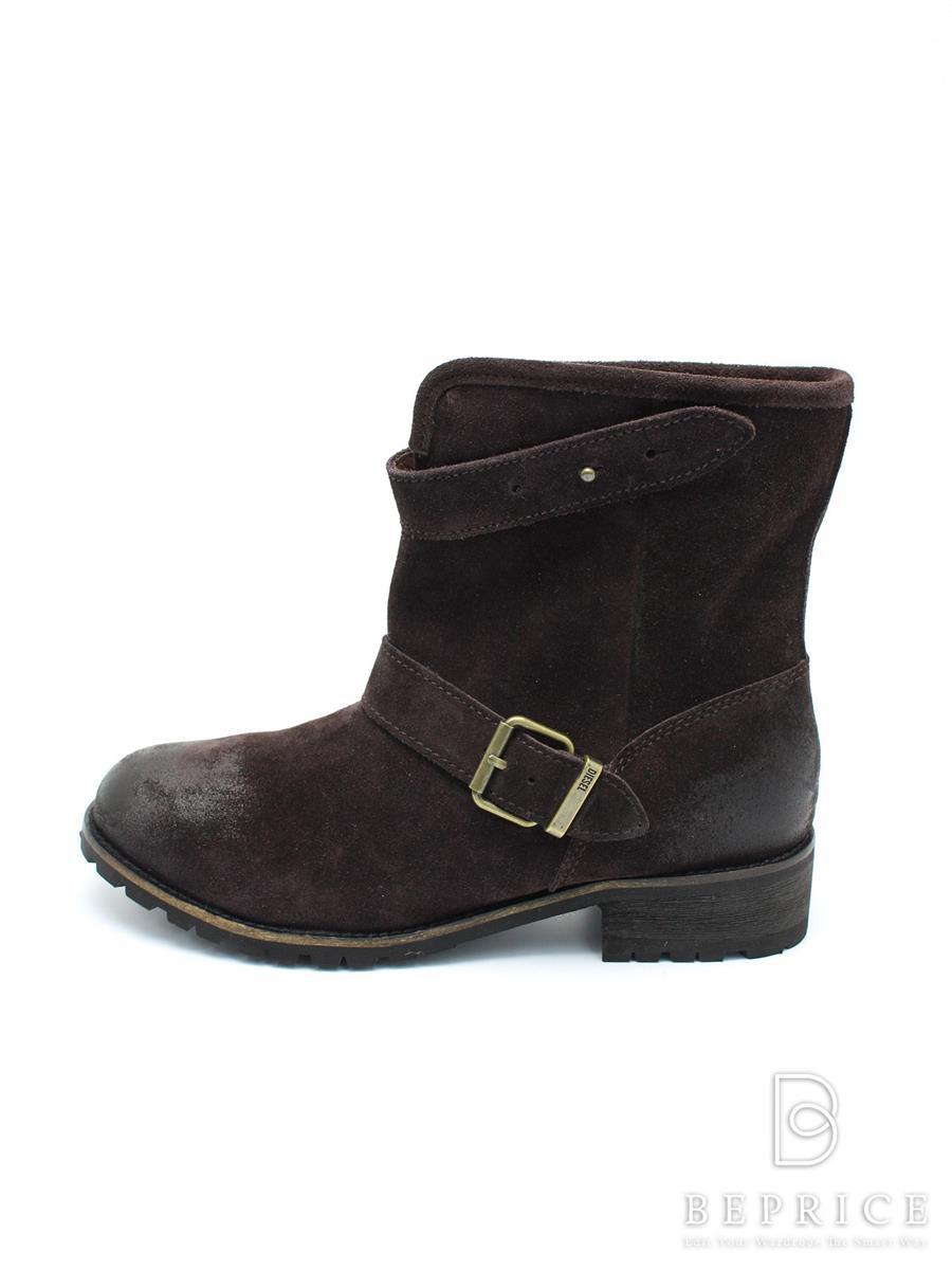 DIESEL ディーゼル 靴 ショートブーツ ボア【24.5】【Aランク】【中古】tn300121t