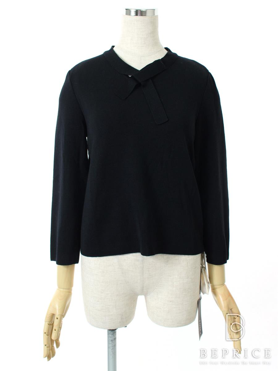 FOXEY BOUTIQUE フォクシー トップス Bow-Tie Knit Tops【38】【Aランク】【中古】tn300125t