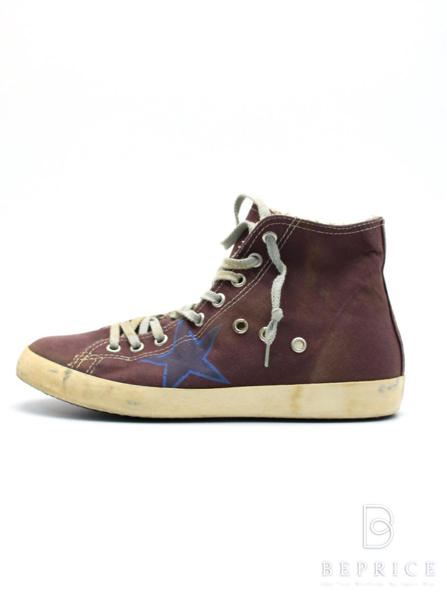 GOLDEN GOOSE ゴールデングース 靴 スニーカー USED加工【37】【Bランク】【中古】tn300128t