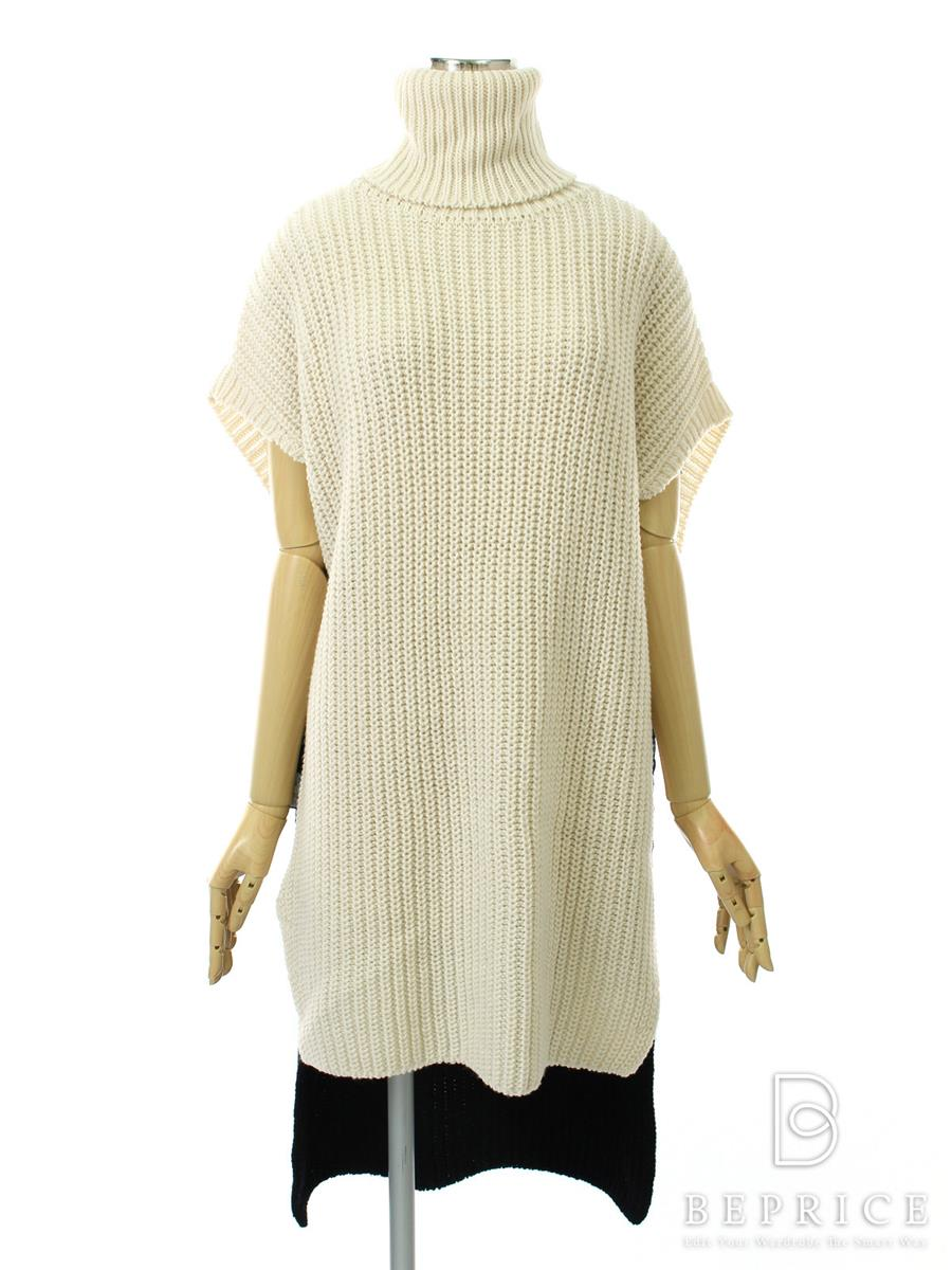 FOXEY NEWYORK フォクシー トップス ニット Collection DROPSLEEVE TUNIC TURTLENECK【Aランク】【中古】tn300201t