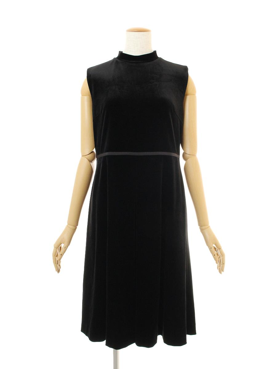 VELOUR NOIR by FOXEY フォクシー ワンピース Dress ベロア【40】【Aランク】【中古】ic300215t