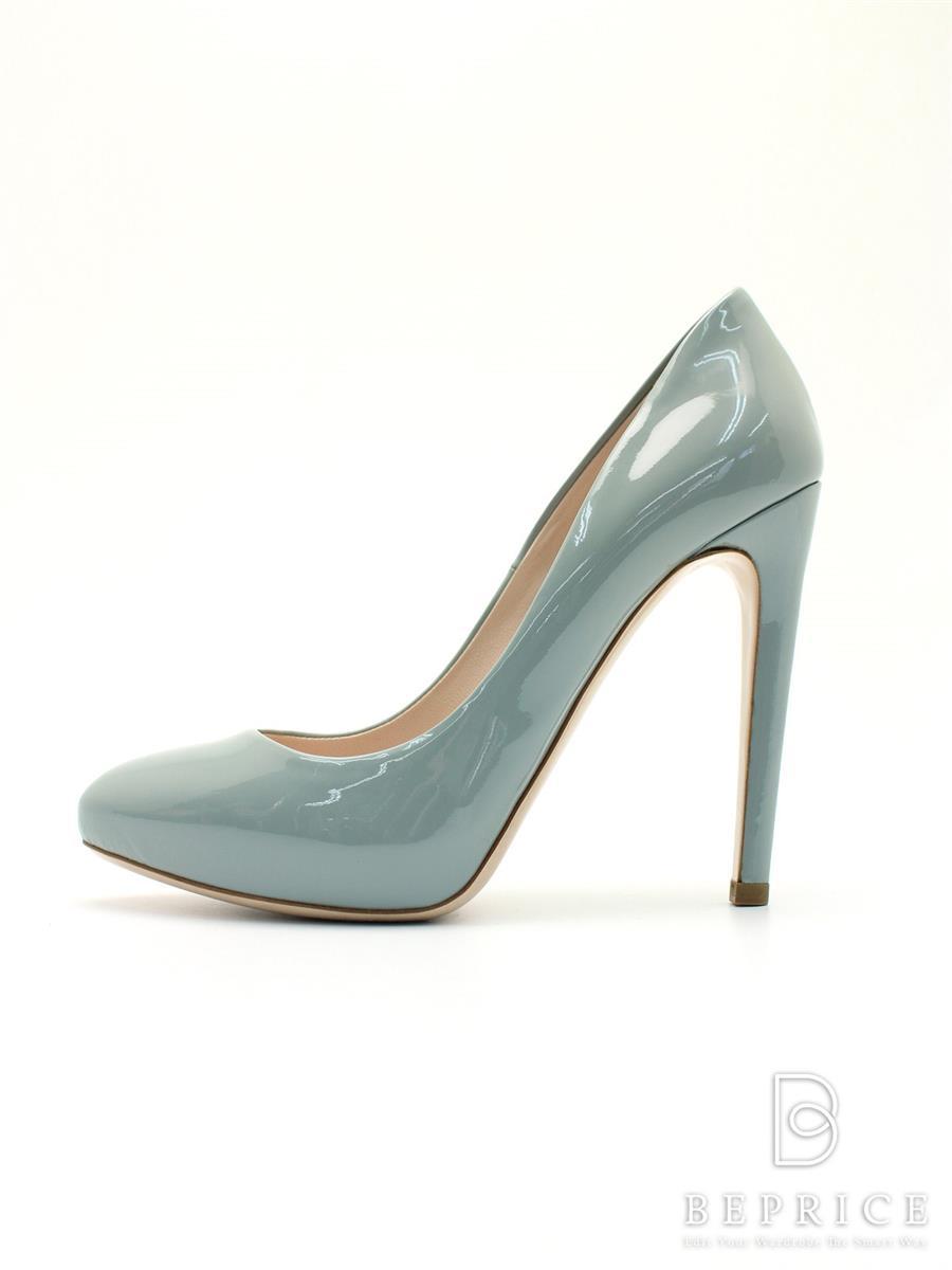 MIUMIU ミュウミュウ 靴 パンプス エナメル【36.5】【Aランク】【中古】tn300215t