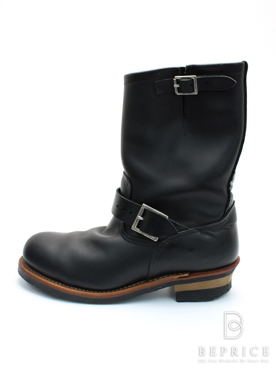 REDWING レッドウィング 靴 エンジニアブーツ【メンズ】【UK8.5】【Aランク】【中古】tn300215t