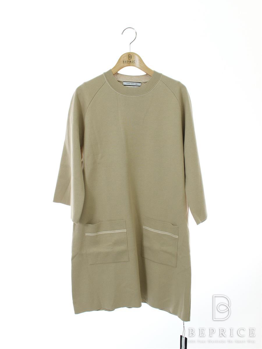 FOXEY NEWYORK フォクシー ワンピース ニット Dress 38218 Collection【38】【Aランク】【中古】tn300304t