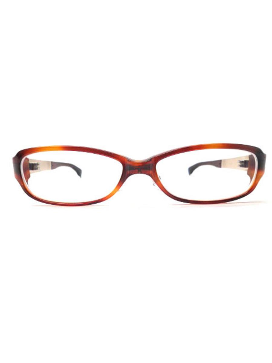 9999 フォーナインズ 眼鏡 メガネフレーム べっ甲柄【55□16 131】【Aランク】【中古】as300304t