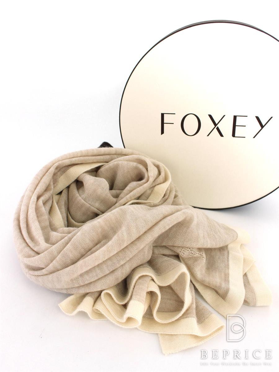 FOXEY BOUTIQUE フォクシー ストール foggy Stole 36902【F】【Sランク】【中古】tn300311t