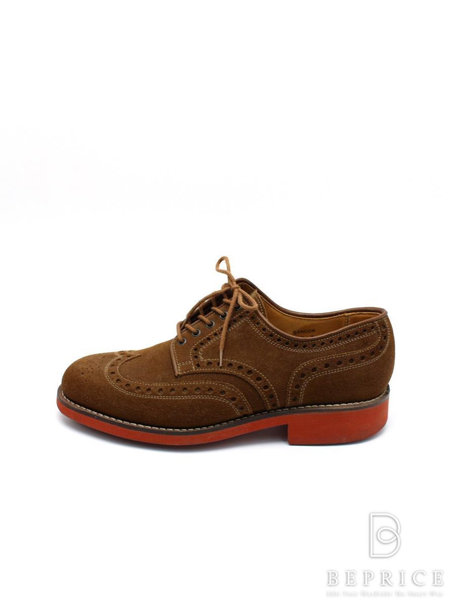 Crockett&Jones クロケット&ジョーンズ 靴 シューズ BANGOR【メンズ】【6E】【Aランク】【中古】tn300311t