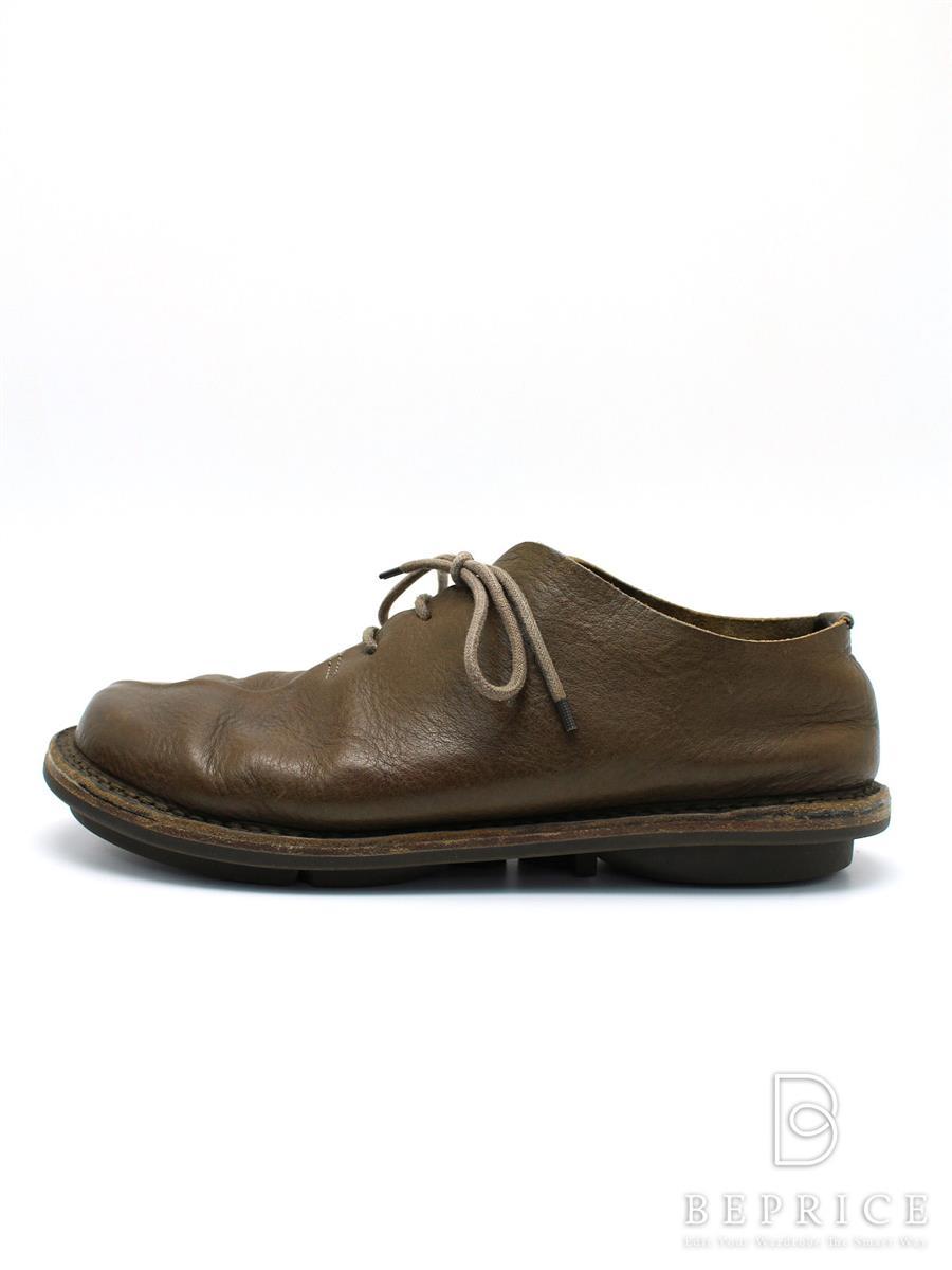 trippen トリッペン 靴 シューズ レザー ソール【メンズ】【Cランク】【中古】tn300315t
