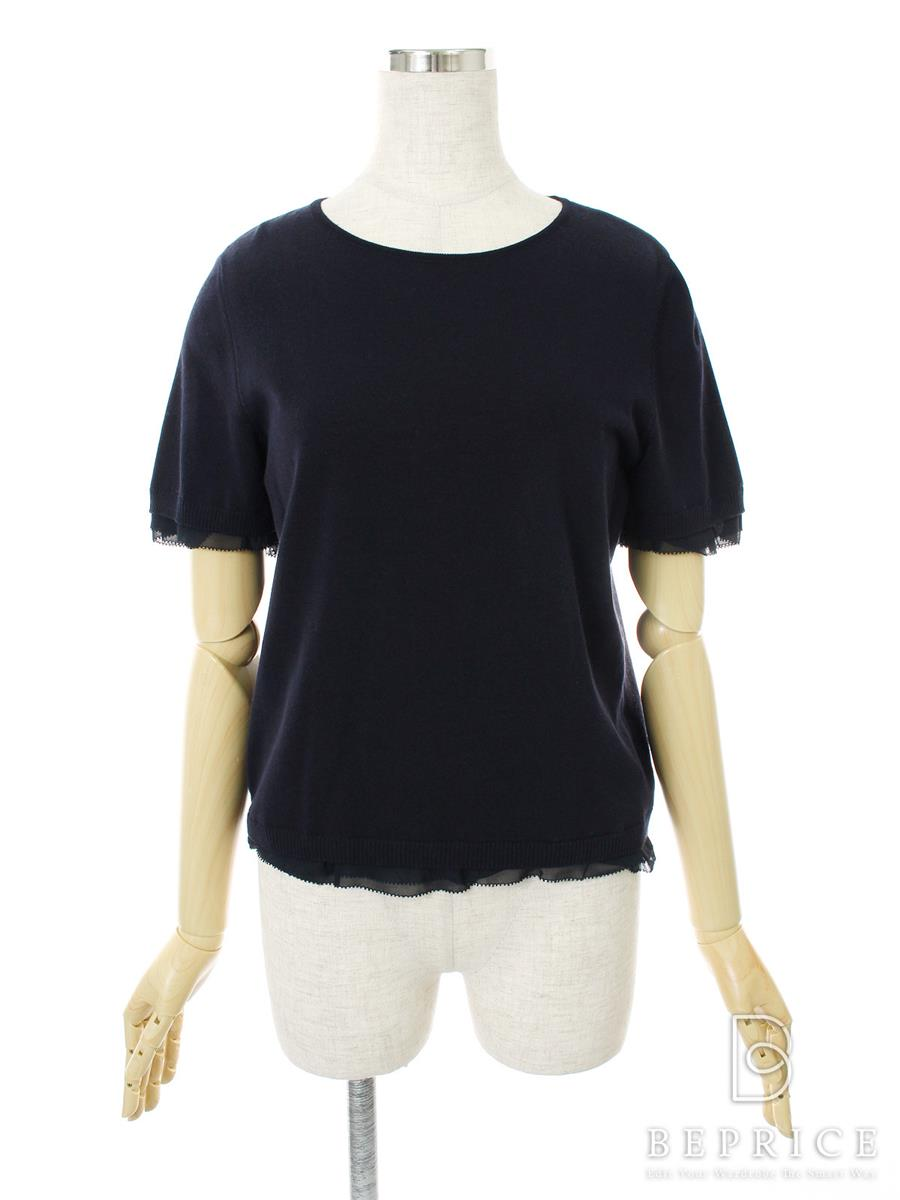 FOXEY BOUTIQUE フォクシー ニットトップス Knit Top Sweet Madeleine【42】【Aランク】【中古】gz300315t