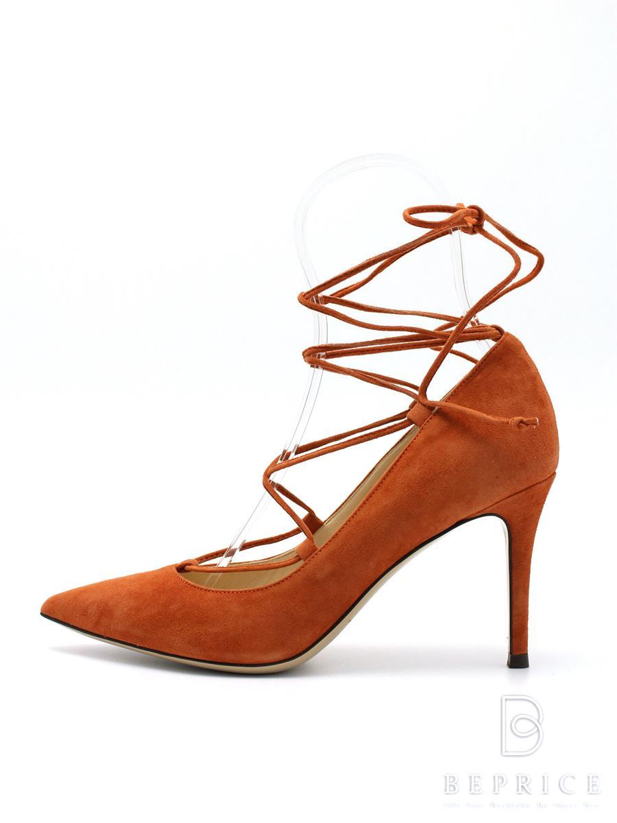 FABIO RUSCONI ファビオルスコーニ 靴 パンプス ヒール スエード【37】【Nランク】【中古】tn300315t