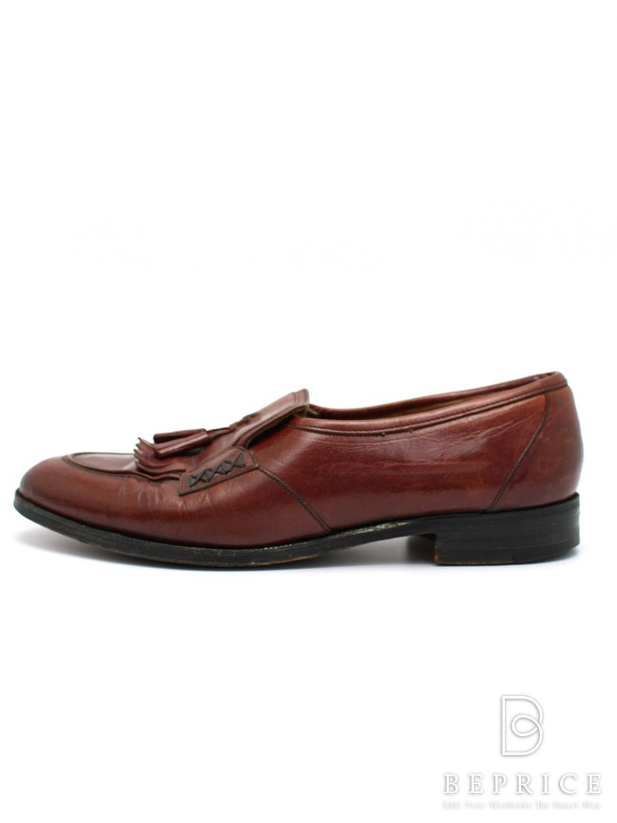 Church チャーチ 靴 タッセルローファー【メンズ】【UK7】【Bランク】【中古】tn300315t