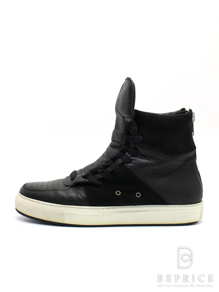 KRISVANASSCHE クリスヴァンアッシュ 靴 ハイカット スニーカー【メンズ】【41】【Bランク】【中古】tn300318t