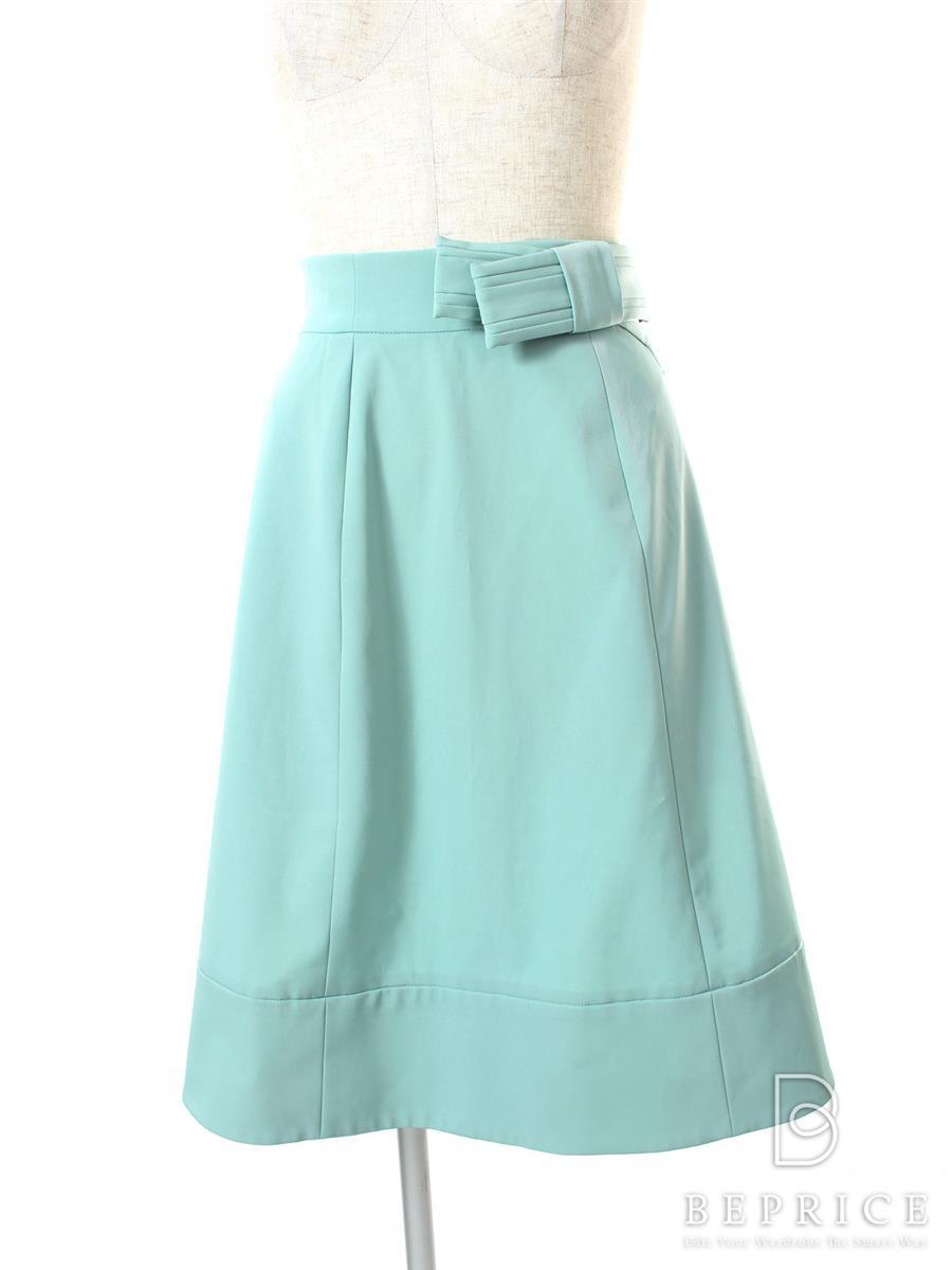 FOXEY NEWYORK フォクシー パピヨンタイスカート【38】【Aランク】【中古】gz300329t
