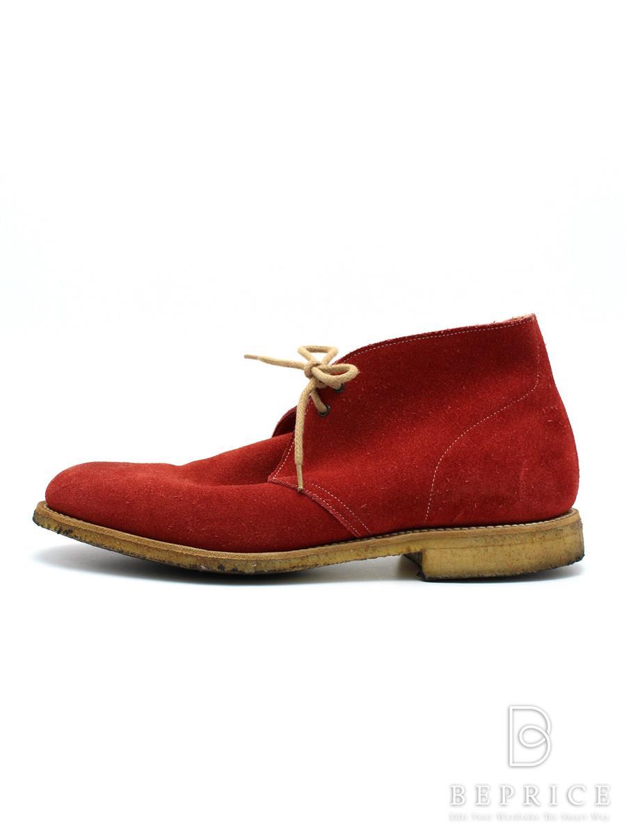 Churchs チャーチ 靴 チャッカブーツ sahara3 スエード【メンズ】【Aランク】【中古】tn300325t