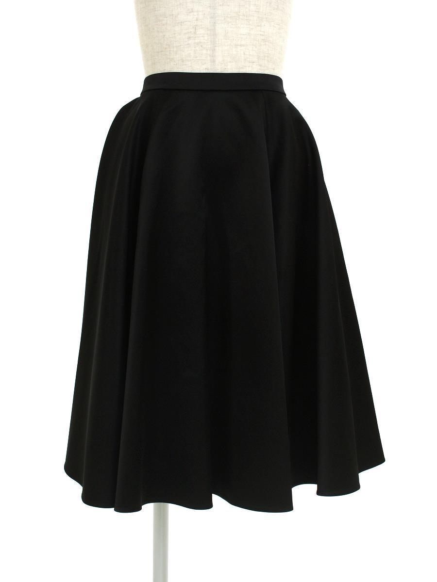 YOKO CHAN ヨーコチャン スカート フレアー サテン【38】【Aランク】【中古】ic300412t
