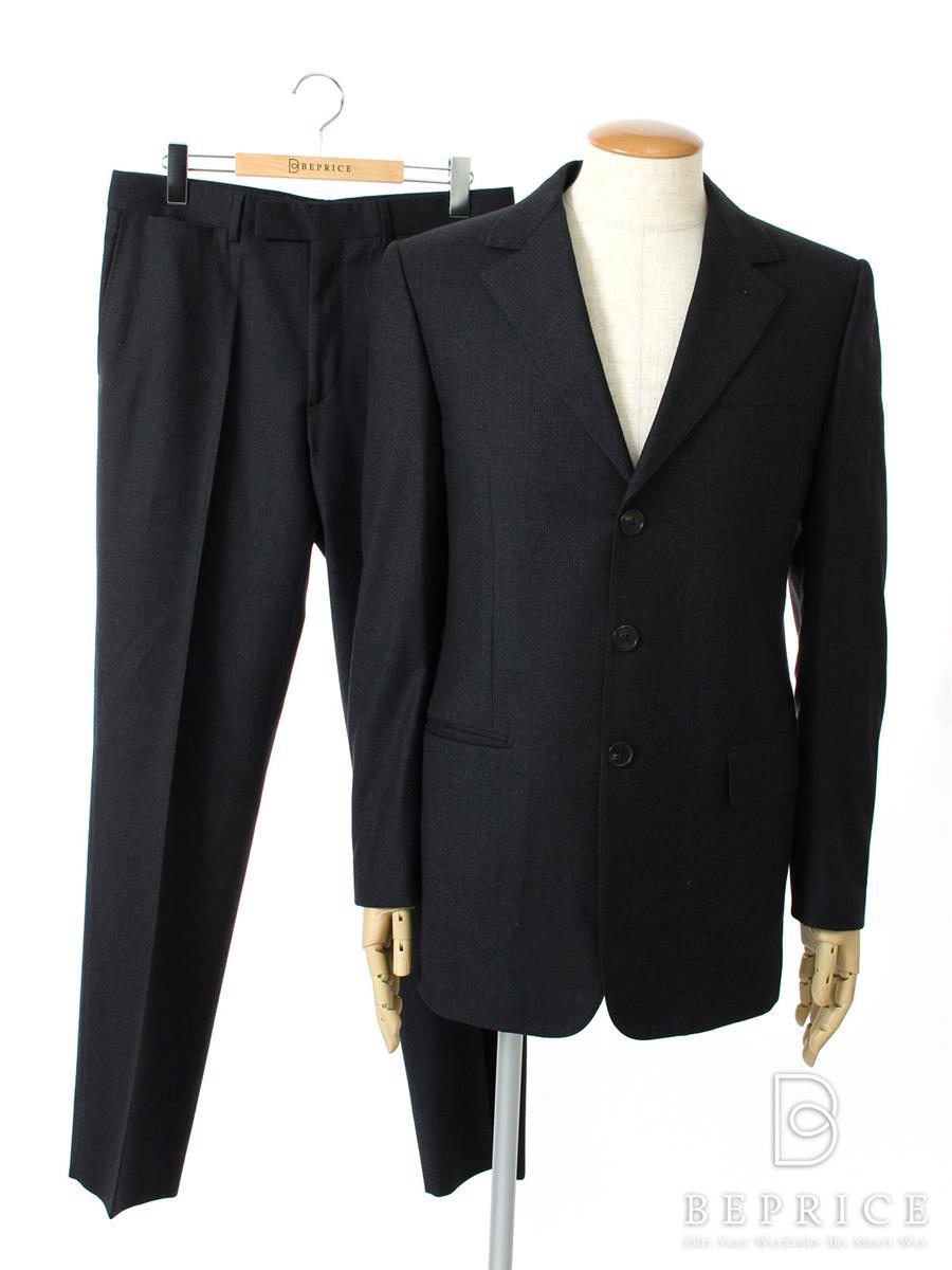 LOUIS VUITTON ルイ ヴィトン シングルスーツ ウール 三つボタン【メンズ】【48】【Aランク】【中古】gz300415t