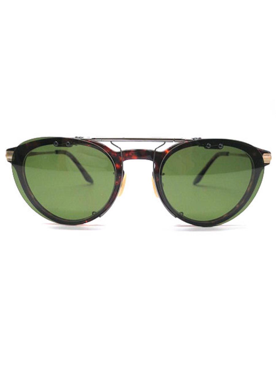 金子眼鏡 カネコガンキョウ 眼鏡 メガネフレーム VINTAGE ボスト【メンズ】【50□23 148】【Aランク】【中古】as300422t
