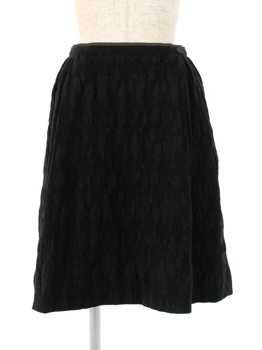 FOXEY BOUTIQUE フォクシー スカート Black Truffe【38】【Aランク】【中古】ic300429t