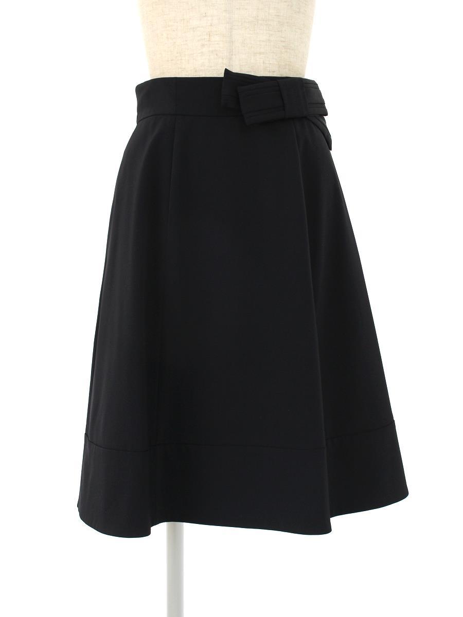 FOXEY NEWYORK フォクシー パピヨンタイスカート【38】【Aランク】【中古】gz300503t