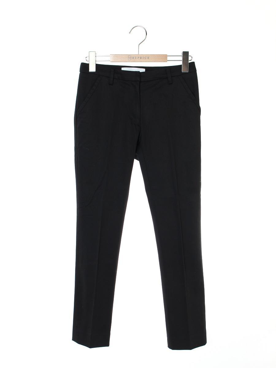 ADEAM アディアム パンツ Cropped Pants ブラック【0】【Aランク】【中古】tn300503t