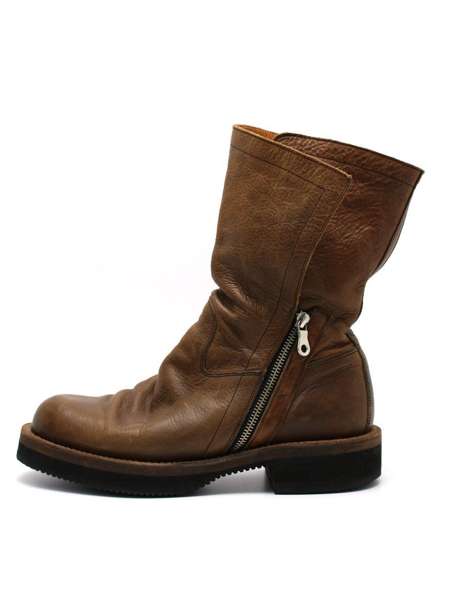 MIHARA YASUHIRO ミハラヤスヒロ 靴 ブーツ レザー【メンズ】【26】【Bランク】【中古】tn300503t