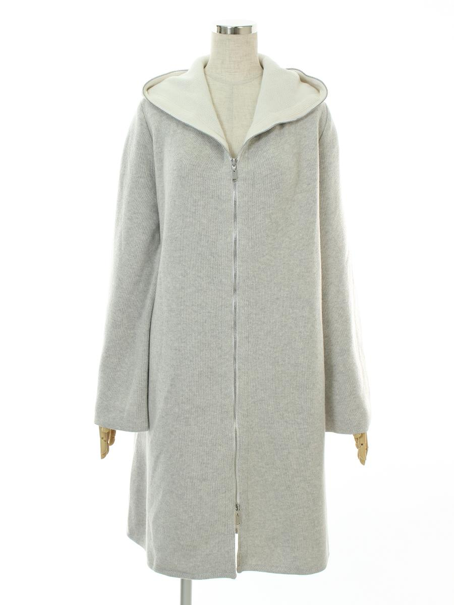 FOXEY BOUTIQUE フォクシー コート Knit Coat Spring Breeze【38】【Aランク】【中古】tn300513t