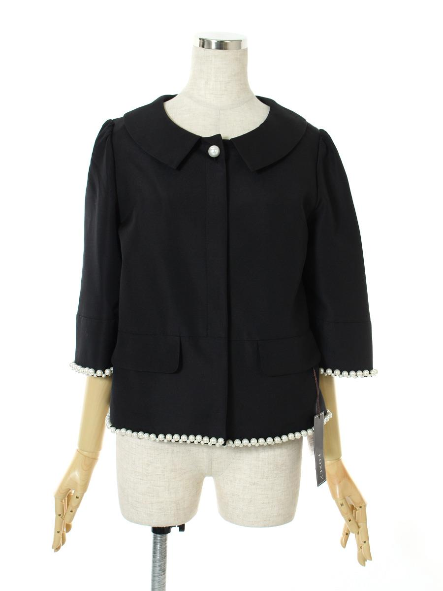 FOXEY BOUTIQUE フォクシー ジャケット Peter Pan Pearl Jacket【40】【Aランク】【中古】tn300510t