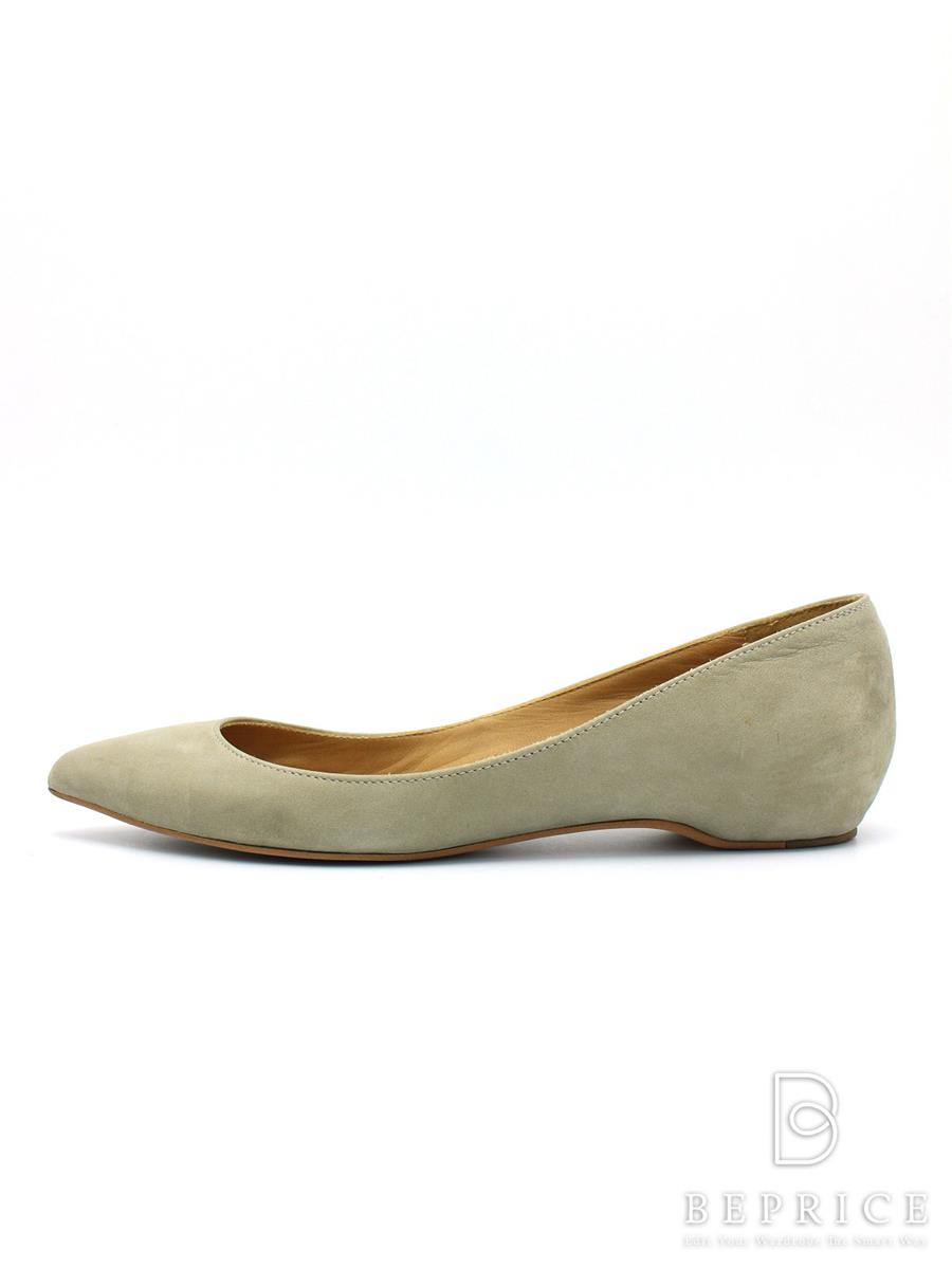 CHEMBUR チェンバー 靴 パンプス フラット スエード【36】【Bランク】【中古】tn300513t