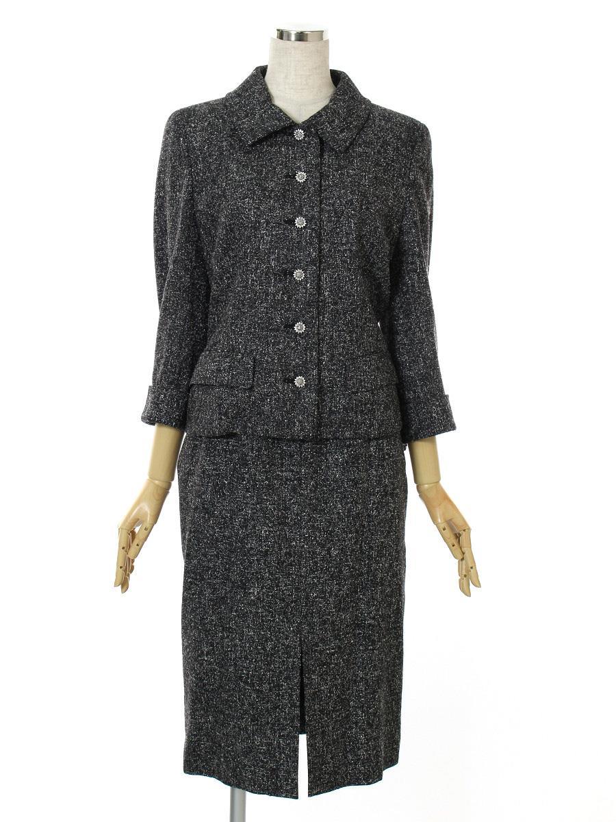 FOXEY BOUTIQUE フォクシー スーツ スカート ジャケット【40】【Bランク】【中古】tn300517t