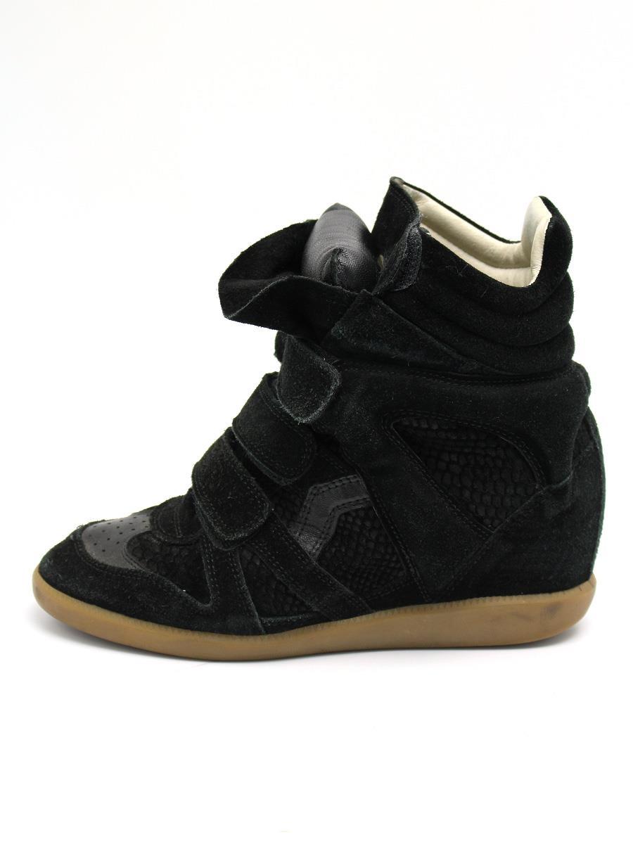 ISABEL MARANT イザベルマラン 靴 スニーカー ハイカット【37】【Cランク】【中古】tn300517t
