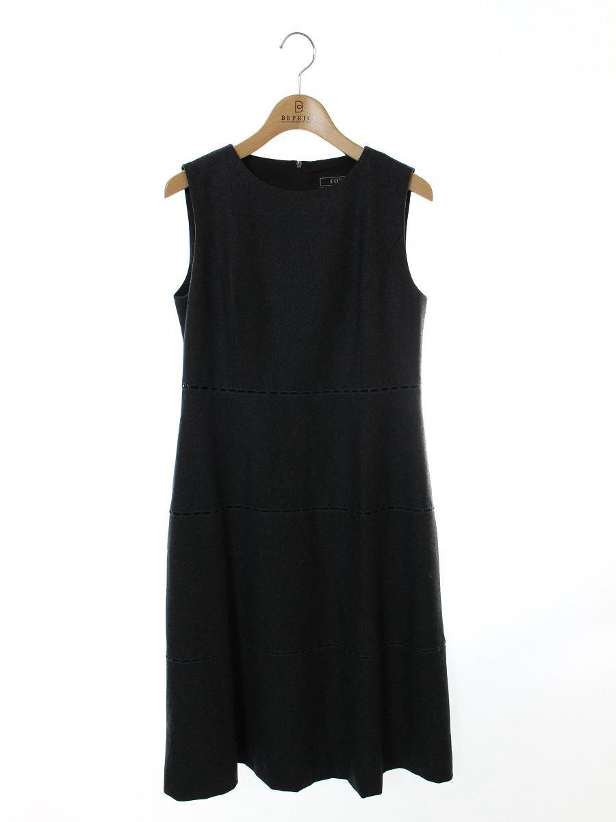 FOXEY BOUTIQUE フォクシー ワンピース ドレス TORTE ウール【38】【Bランク】【中古】gz300527t