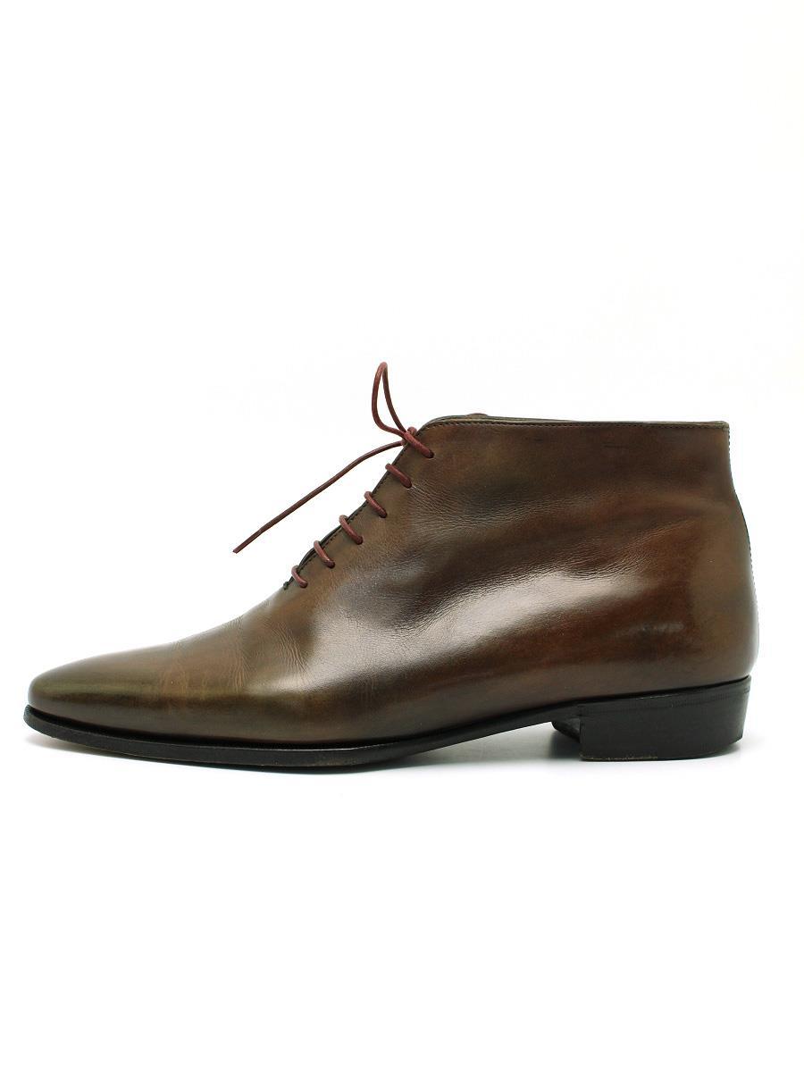 Berluti ベルルッティ 靴 ブーツ ビジネスシューズ ピアッシング【メンズ】【7.5】【Bランク】【中古】tn300603t