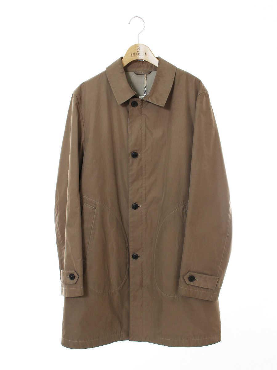 BURBERRY BLACK LABEL バーバリーブラックレーベル コート 襟付【メンズ】【L】【Bランク】【中古】tn300603t