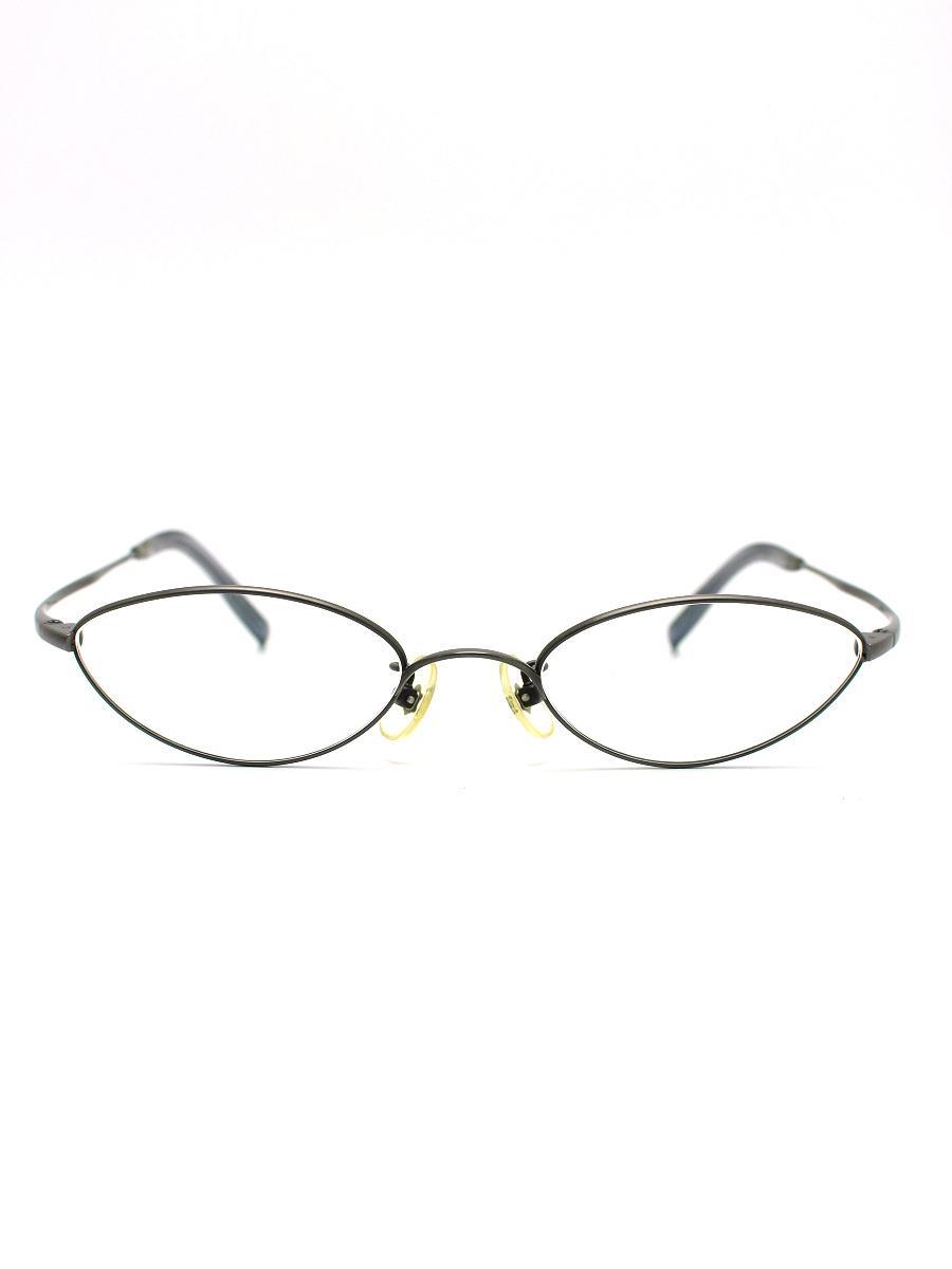 9999 フォーナインズ 眼鏡 フルリム TITANIUM オーバル【50□19 145】【Aランク】【中古】tn300603t