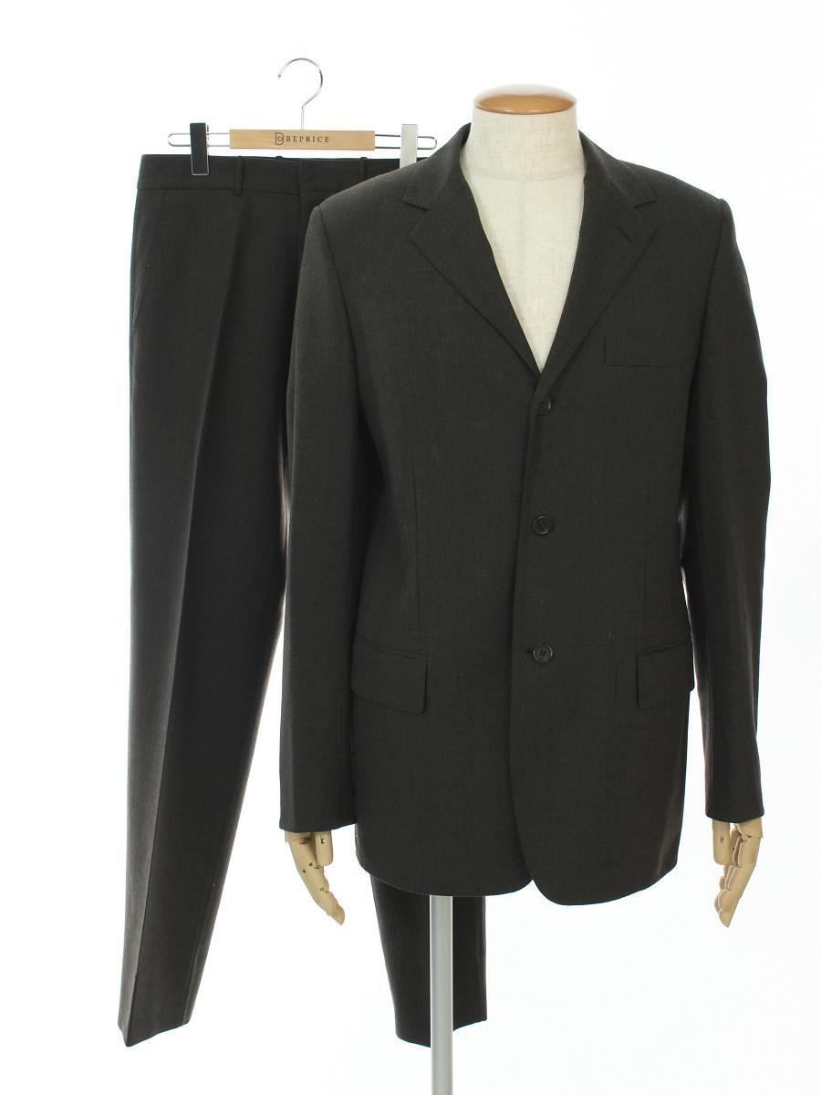 LOUIS VUITTON ルイ ヴィトン シングルスーツ ウール 三つボタン【メンズ】【48】【Bランク】【中古】gz300614t