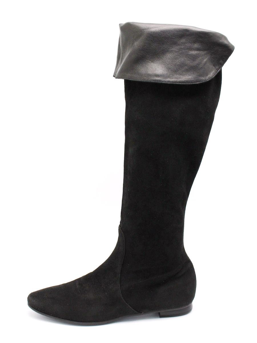 FOXEY BOUTIQUE フォクシー 靴 ロングブーツ スエード【37】【Bランク】【中古】tn300614t